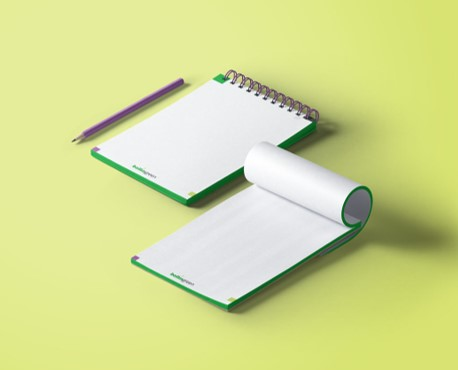 Notepad mock ups