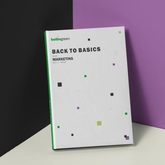 Back to basics: Marketing - Set up guide mockup