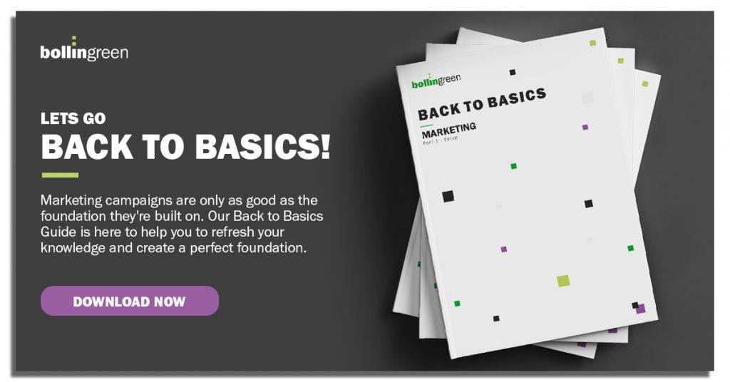 Lets go Back to Basics!