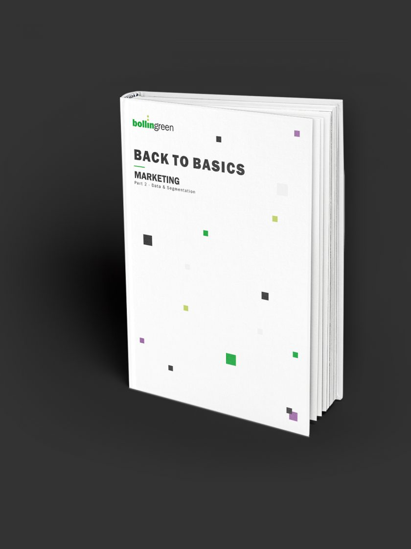 Back to Basics: Part 2 - Data & Segmentation
