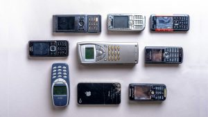 Evolutions of mobile phones